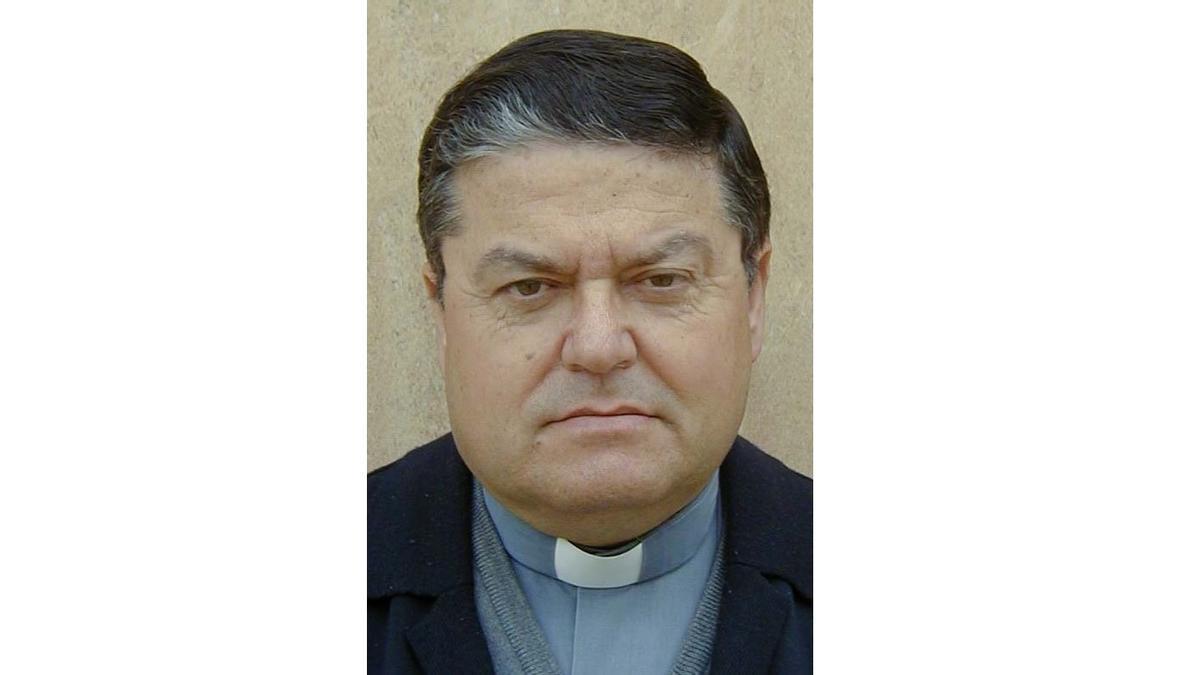 El sacerdote, en una foto de archivo.