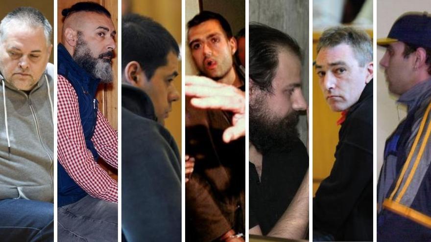 Estos son los rostros de los criminales gallegos que mataron a sus hijos, o a los de su pareja.