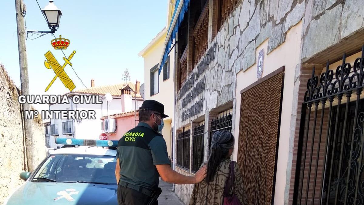 La Guardia Civil localiza a una mujer desaparecida en Torre de Santa María