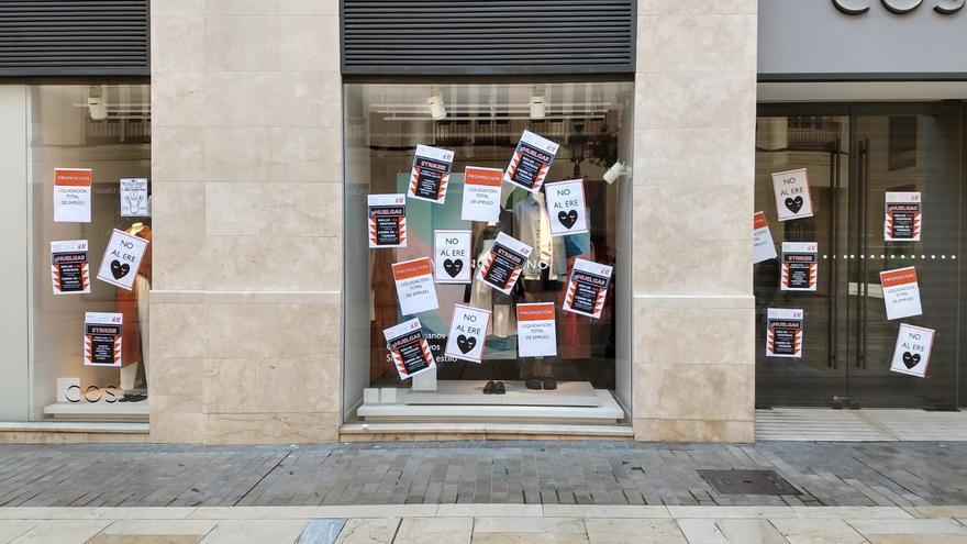COS Málaga declara una huelga por la masificación de despidos en H&M