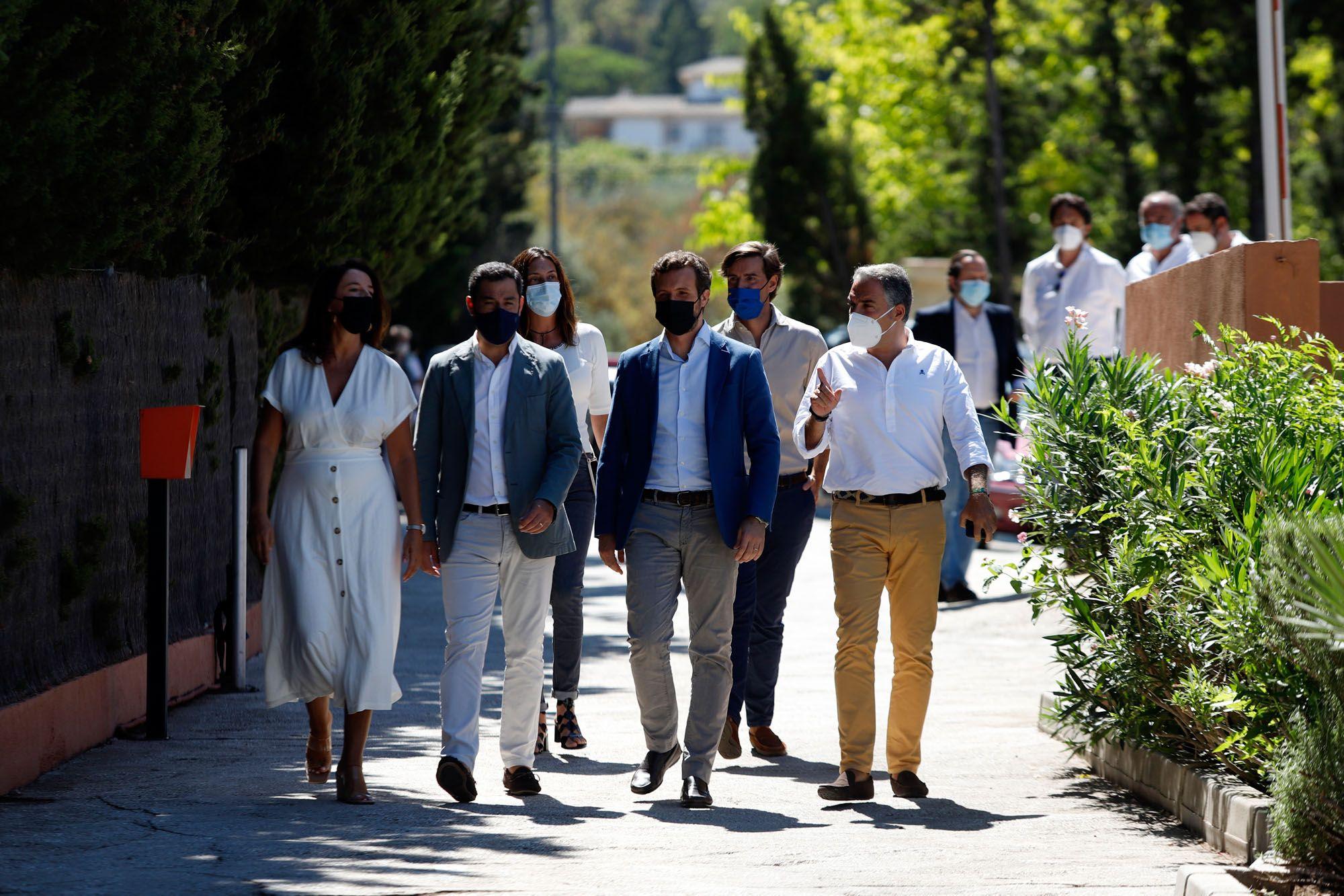 Pablo Casado, en el tradicional inicio del curso político del PP andaluz