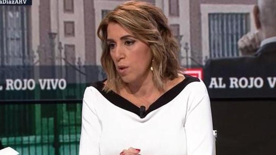 """Susana Díaz pide """"perdón a los andaluces"""" por los ERE"""
