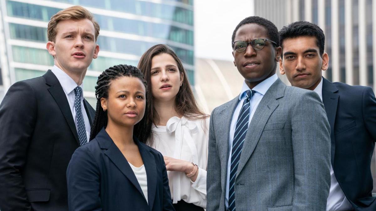 Varios de los protagonistas de 'Industry'.