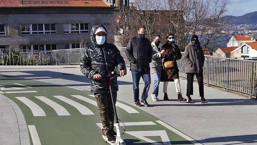 El Concello permitirá la circulación de patinetes eléctricos por el Casco Vello y carriles bici y bus