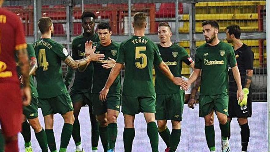 Nolaskoain jugó los últimos doce minutos en el amistoso en Anduva