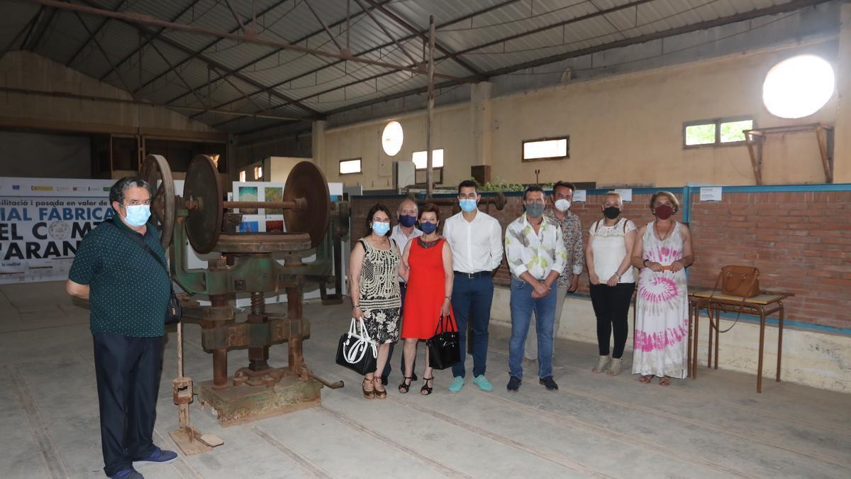 Los hermanos Plaza Artero han donado diferentes máquinas de la desaparecida empresa familiar