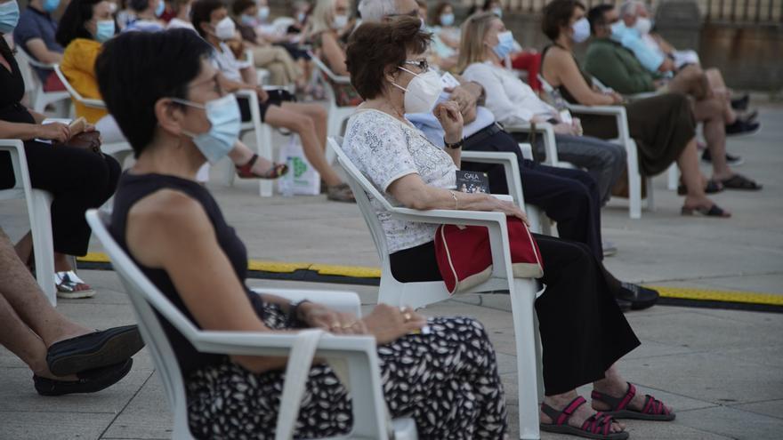 Dieciséis multas diarias en Zamora por no llevar mascarilla