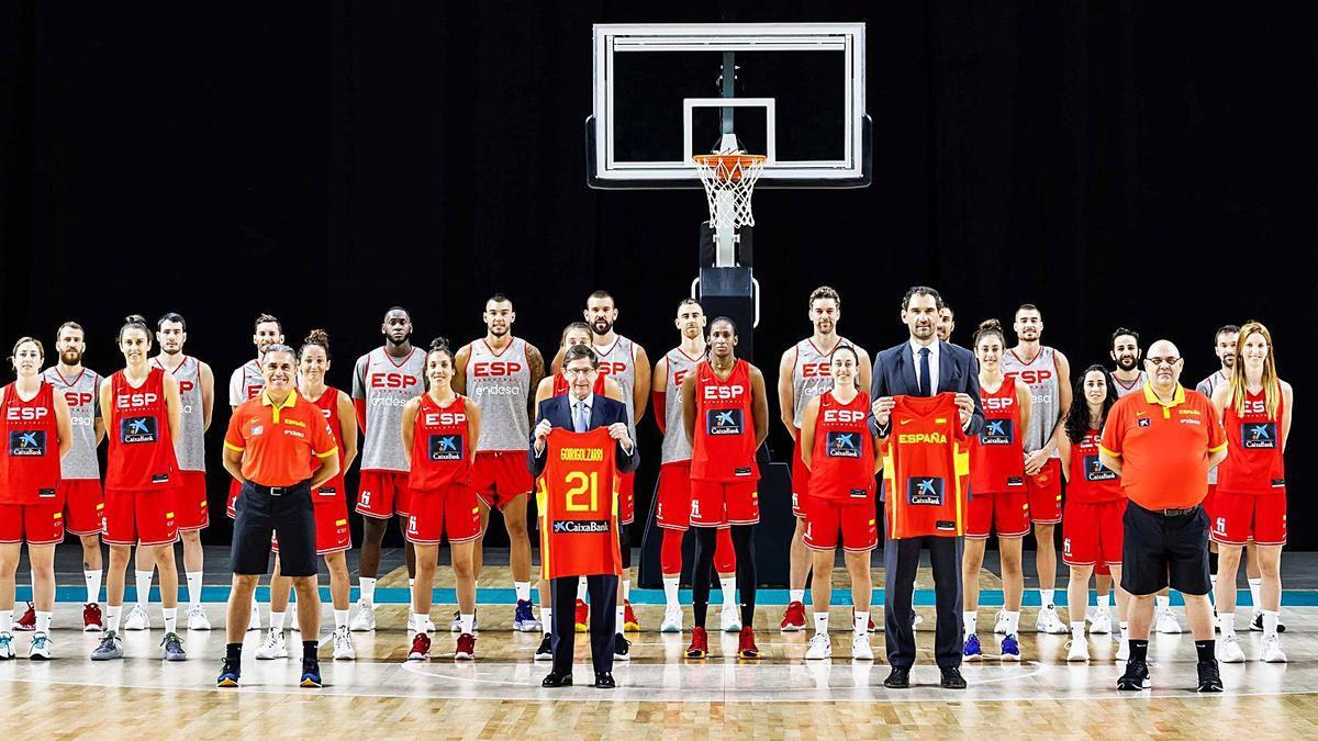 El baloncesto español pone rumbo a las medallas. // FDV