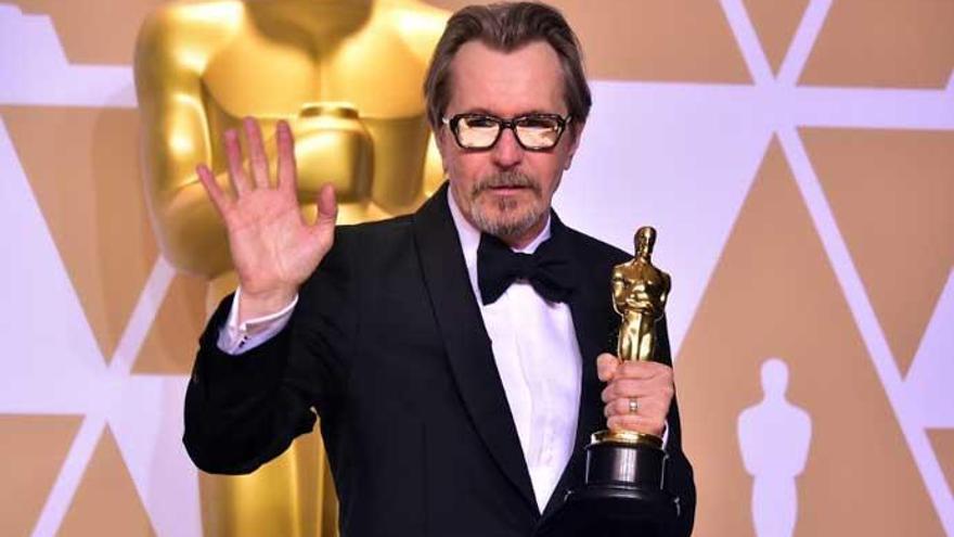 Gary Oldman se hace con el Oscar 2018 a mejor actor