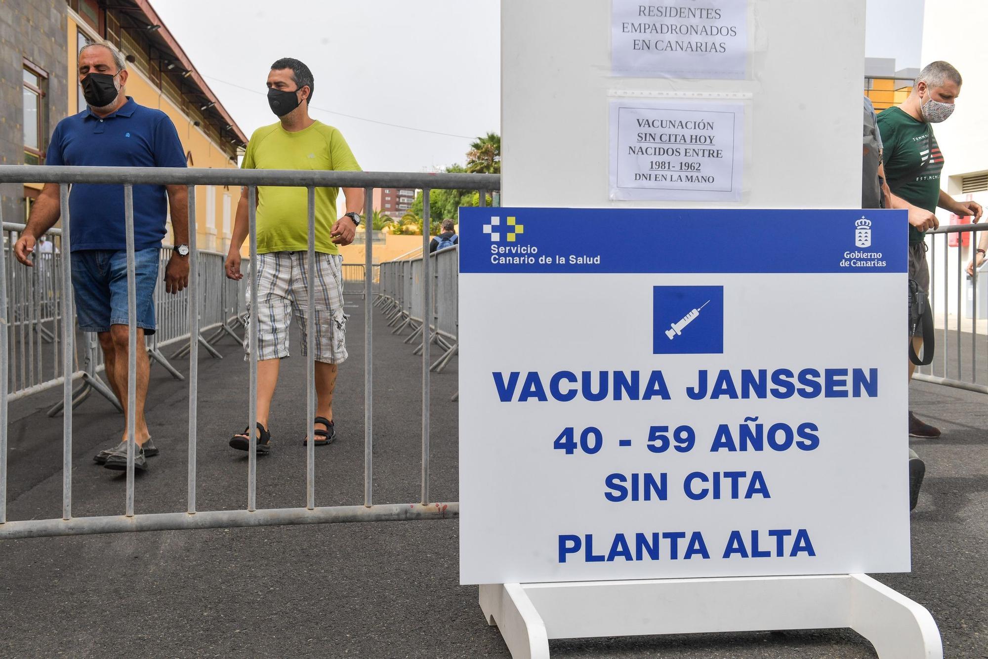 Así ha sido la jornada de vacunación sin cita en Infecar