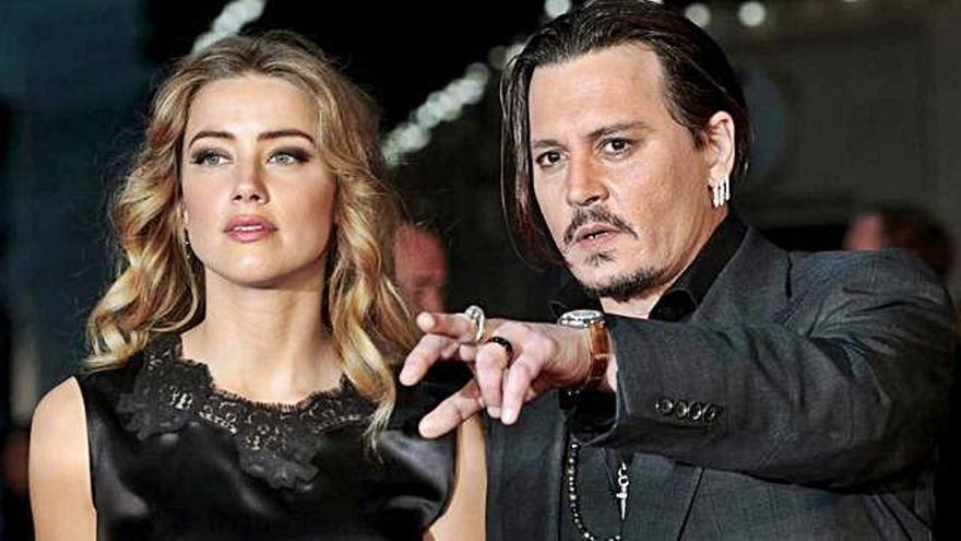Un audio zanjaría los presuntos malos tratos de Depp a Amber Heard