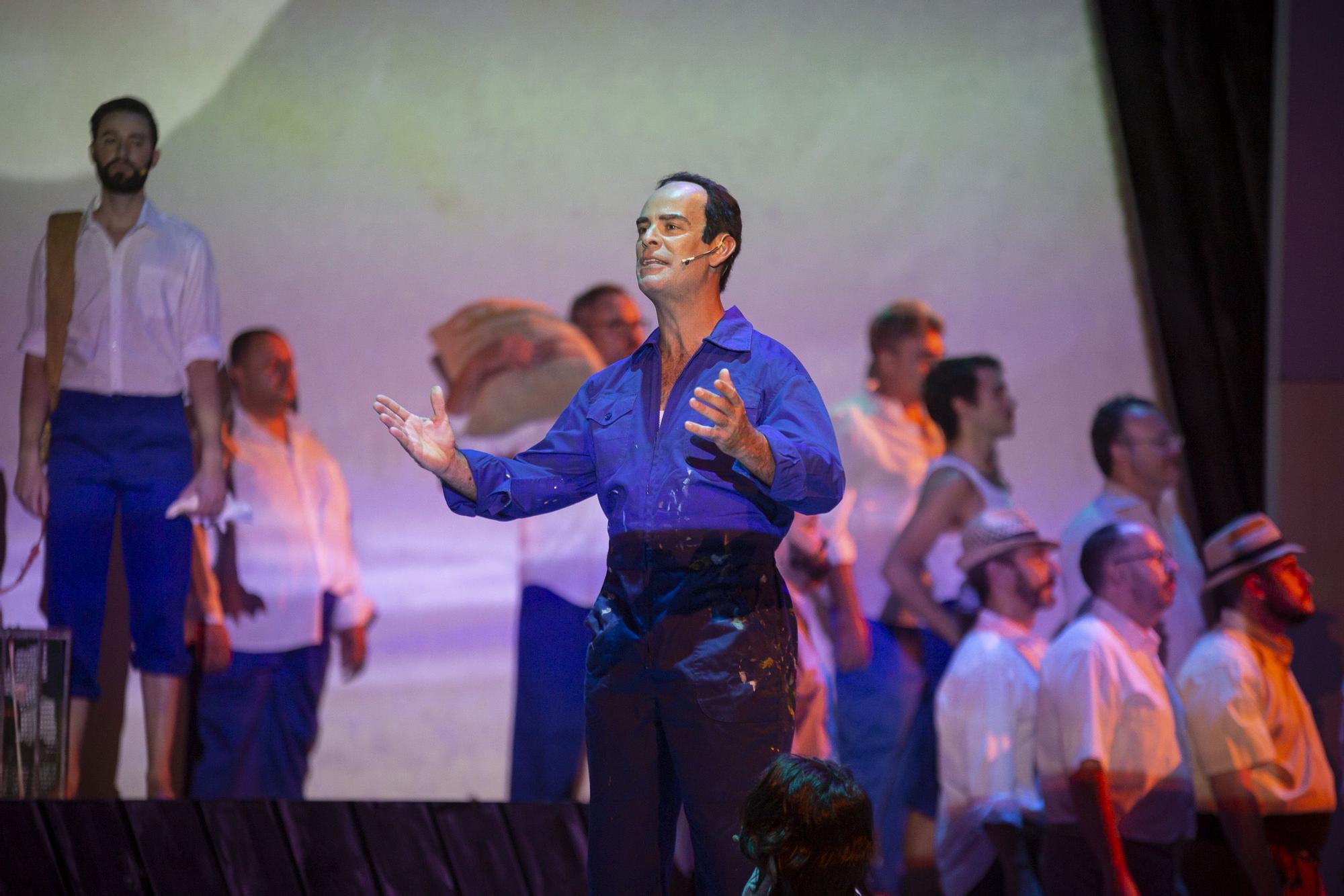Ensayo general del musical de César Manrique en el Cuyás