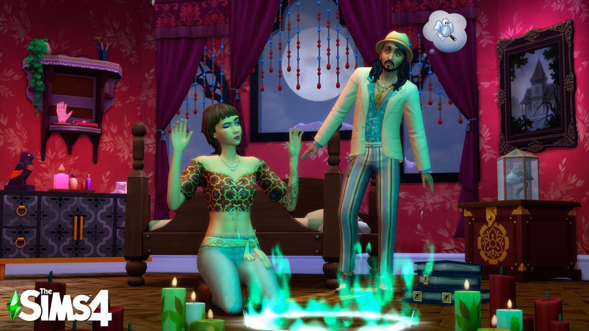 'Los Sims 4 Fenómenos Paranormales'