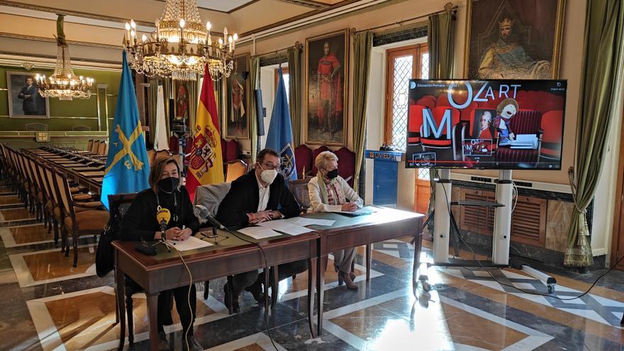 """La Fundación """"Ciudad de Oviedo"""" lleva a los colegios conciertos de música clásica"""