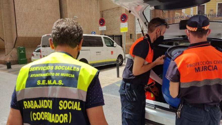Murcia atiende a 12 personas durante el último episodio de altas temperaturas