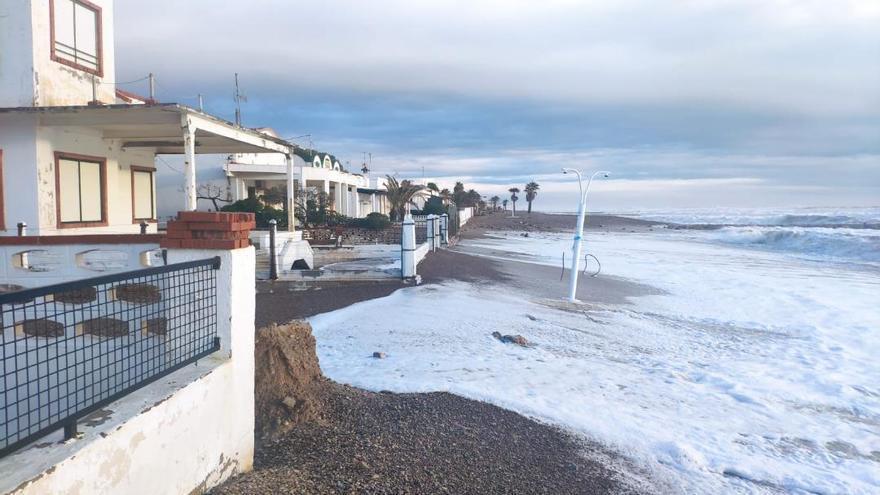 Los vecinos de la playa de Moncofa apoyan la movilización por el litoral