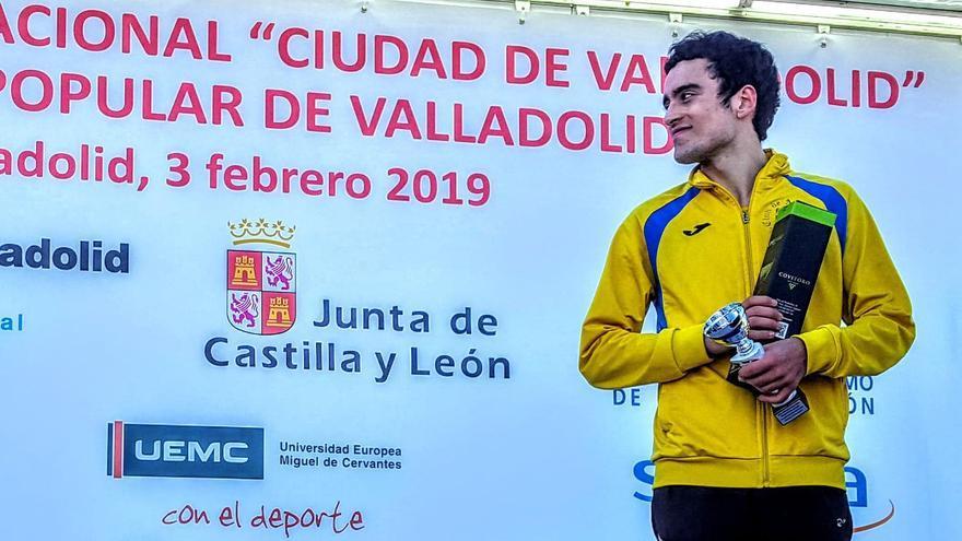 Diego Bravo, quinto en el Nacional sub 23 de atletismo