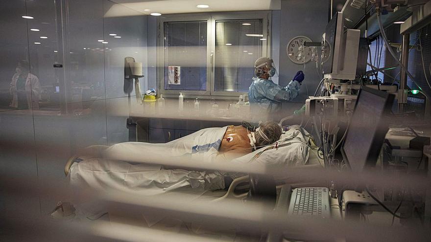 Repunten els pacients crítics després de 6 dies a la baixa