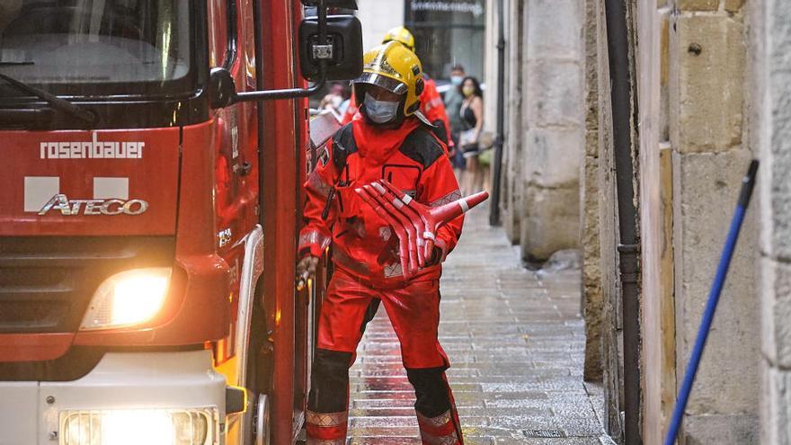 Es registren menys incendis en edificis i menys víctimes mortals que el 2019