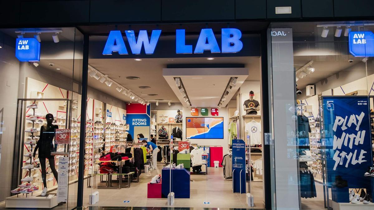 Tienda AW Lab en Murcia.