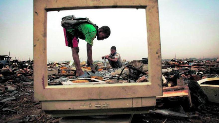 Causas, consecuencias... y opciones de la basura electrónica