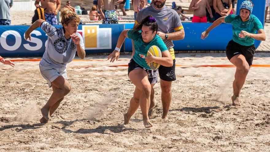 La Vila vibra con el Costa Blanca Beach Rugby