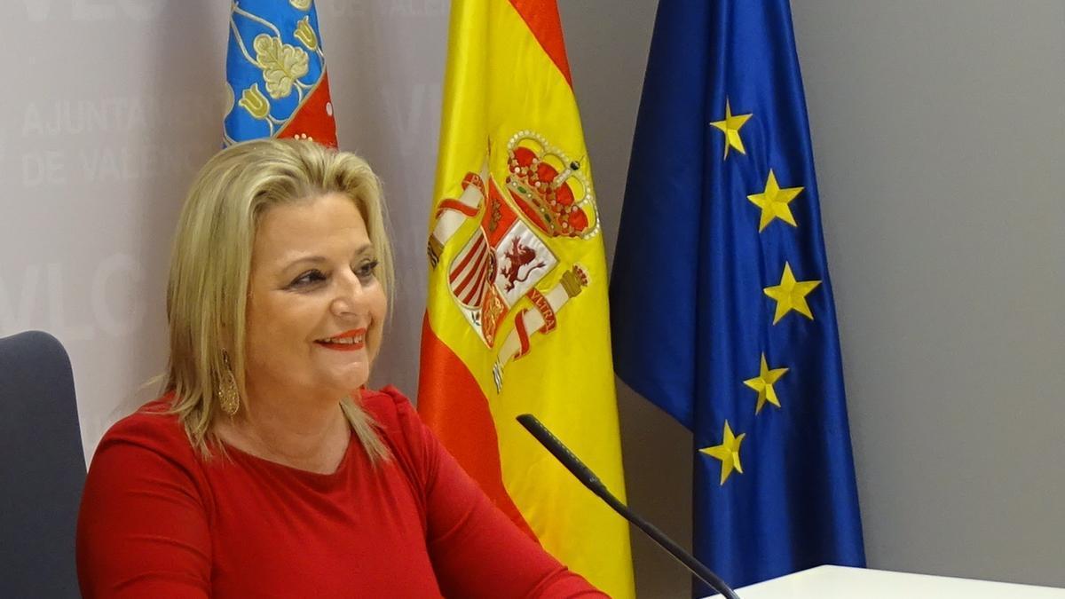 La concejala de Ciudadanos, Amparo Picó.