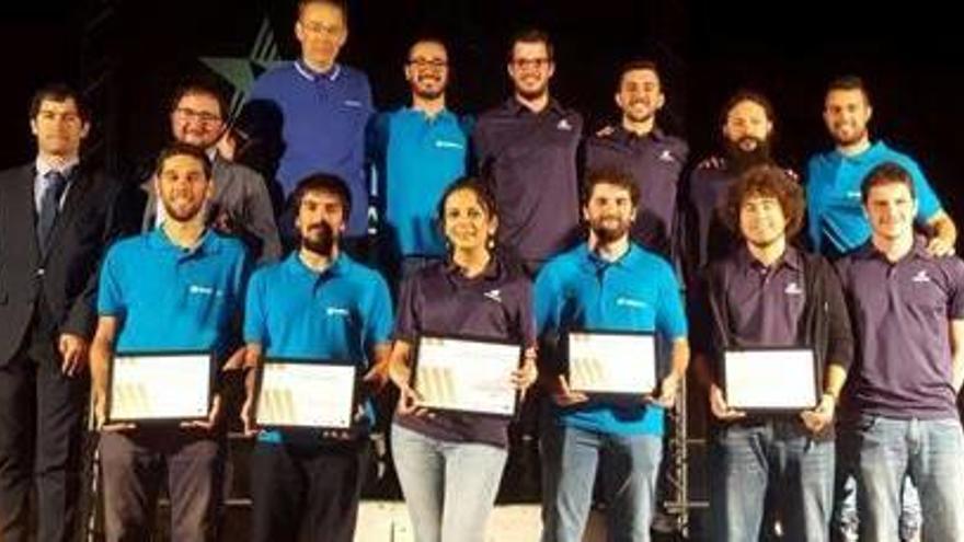 Un robot subaquàtic de la UdG guanya una competició europea