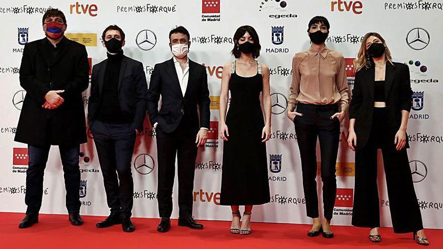 La serie 'Antidisturbios' triunfa en los premios Forqué