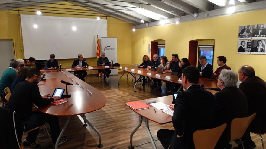 El Consell del Pla de l'Estany preveu seguir amb la gestió dels menjadors escolars
