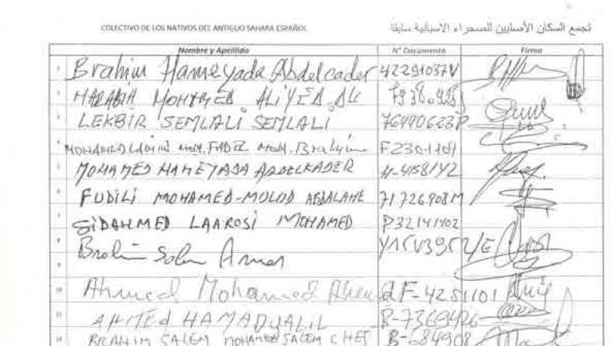 Un centenar de saharauis reclaman su nacionalidad española a Justicia