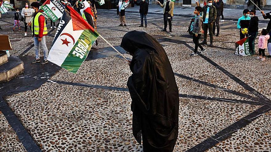 Concentración por la libertad del Sahara