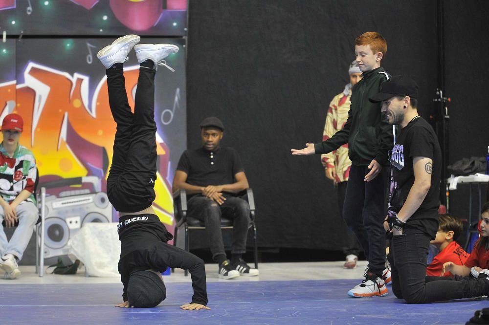 Competición nacional de Breakdance en Elche