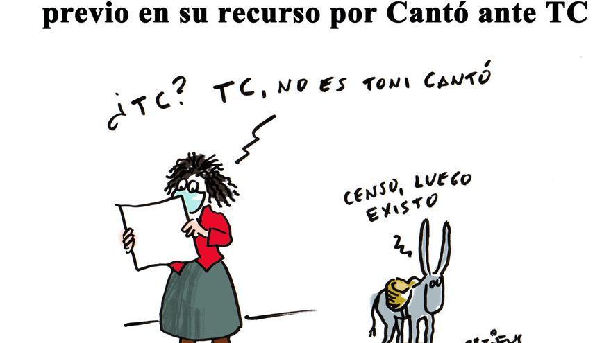 El PP alega que el censo no es requisito previo en su recurso por Cantó ante el TC