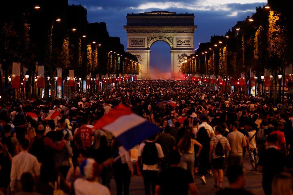 Mundial de Rusia: Francia-Bélgica