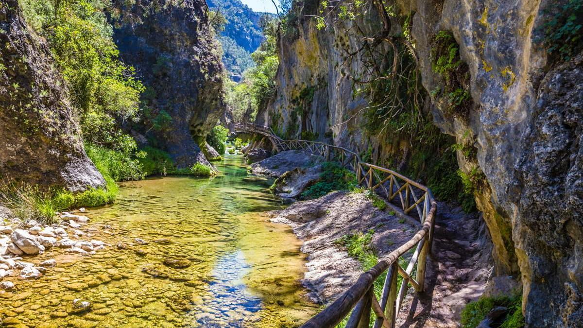 La Cerrada de Elías en el Parque Nacional de la Sierra de Cazorla, Jaén.