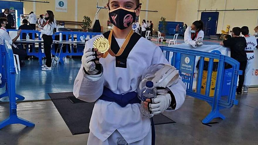Fibra Medios apuesta por Alejandra López, Campeona Europea de Taekwondo