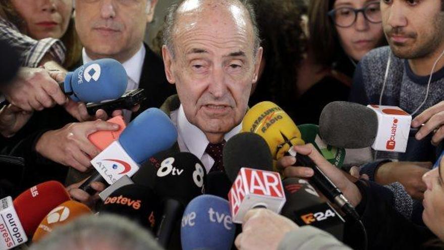 Roca Junyent assegura que la seva donació de 10.000 euros a CDC era legal