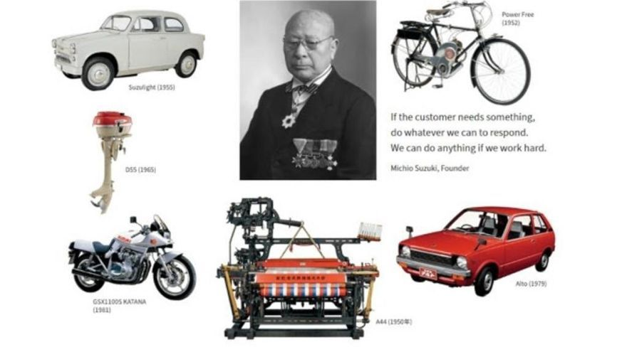 Suzuki celebra su centenario haciendo un repaso por su historia