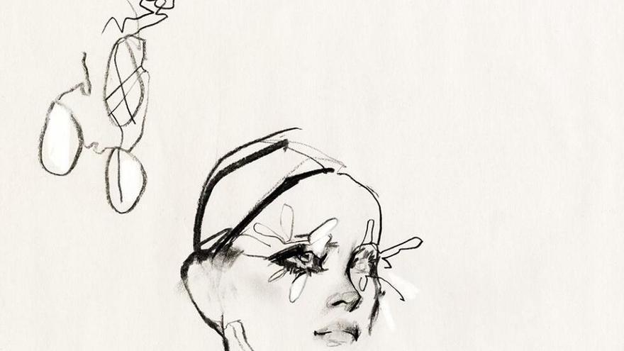 Mariposas en París. La alta costura trazada por David Downton