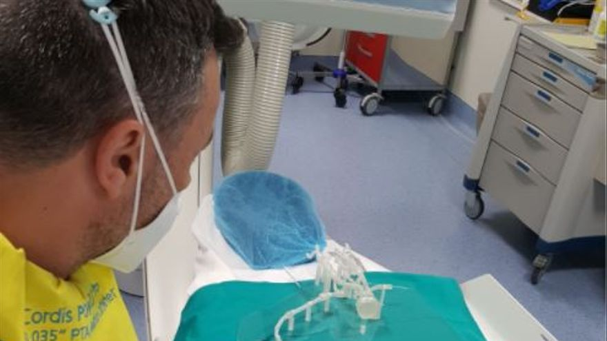 Investigadores de la UA replican las arterias en 3D y reducen a un día la hospitalización