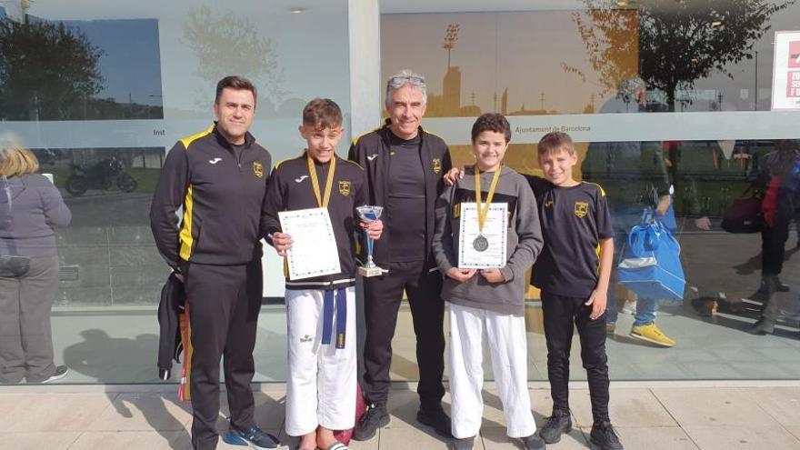 El Tae Sport torna amb dues medalles de Barcelona