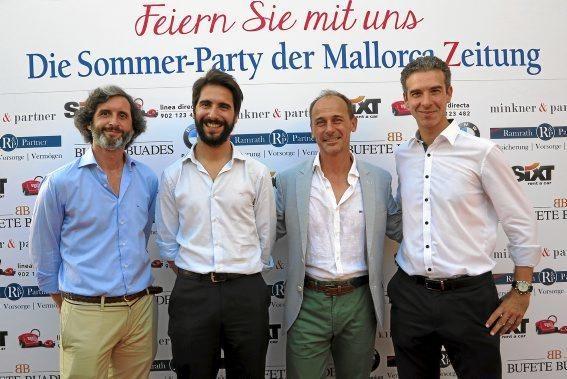 Daniel Olabarría, Gabriel Buades, Sebastián Oliver, Miguel Reus