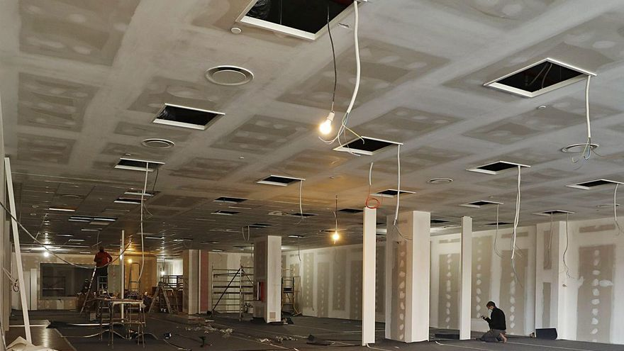 """El Vasco se prepara para el desembarco de 38 nuevos """"vecinos"""": Aqualia abrirá oficinas en el complejo ovetense en junio"""
