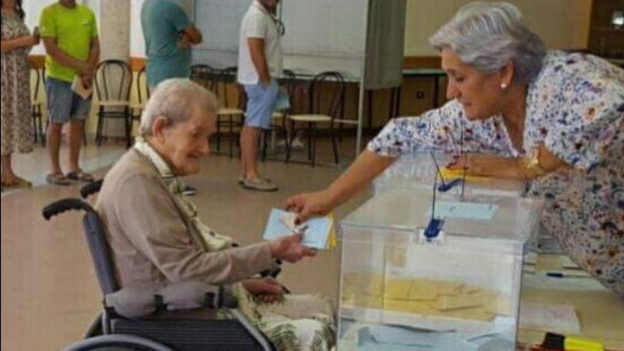 El PSOE resulta el más votado 28 años después