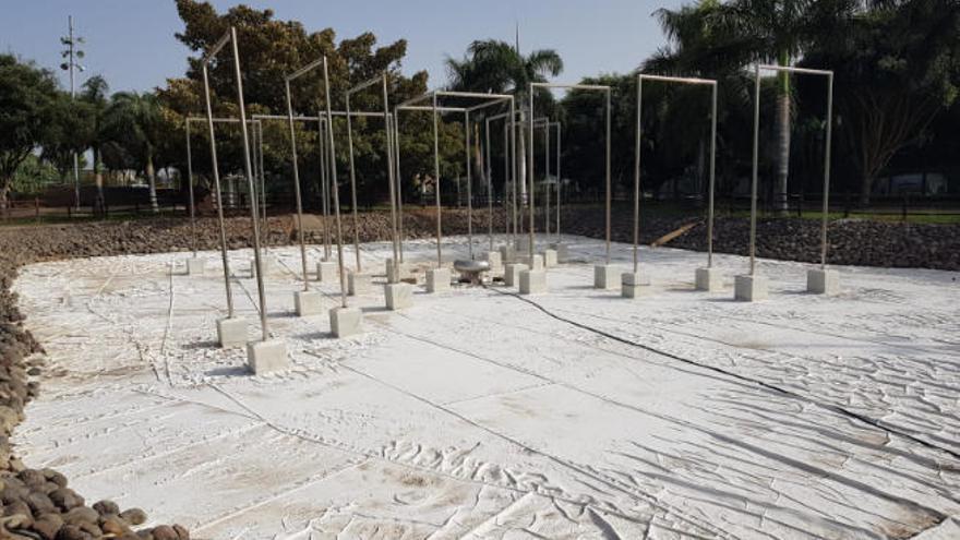 Los vecinos de Siete Palmas reclaman el arreglo del lago del Juan Pablo II