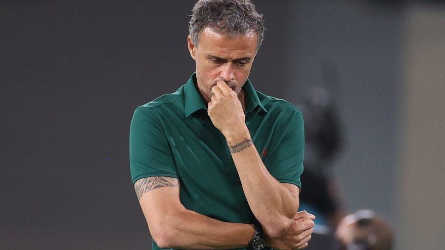 """Luis Enrique: """"Fallar el penalti nos ha cargado de tensión"""""""