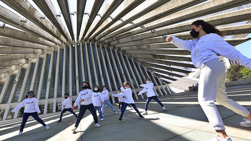 Bailes a la sombra del Calatrava