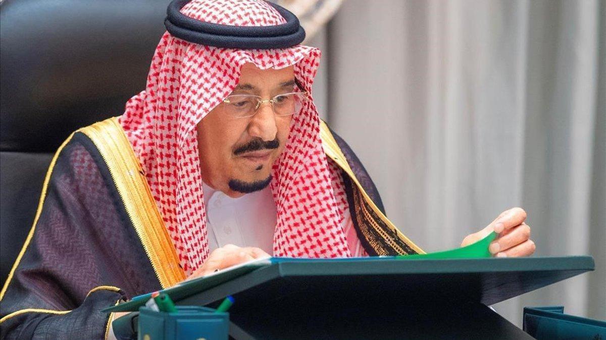 Hospitalizado el rey Salmán de Arabia