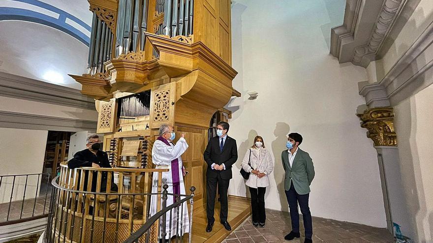 Treinta minutos semanales de 'música para el alma' en San Miguel